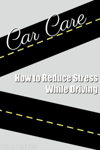 How to Reduce Stress While Driving