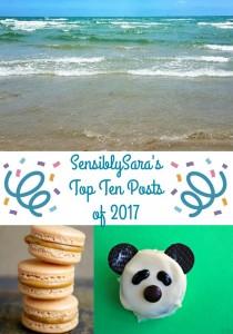 Top Ten Posts for SensiblySara in 2017