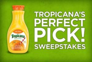 Tropicana Pure Premium 100% Pure Florida Orange Juice {Sweepstakes}