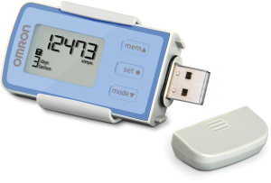 Omron Pedometer HJ-322U {#Review and #Giveaway} CLOSED