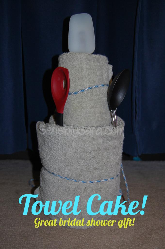 Towel Cake   SensiblySara.com