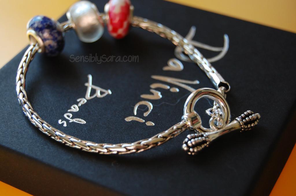 DaVinci Beads Bracelet | SensiblySara.com