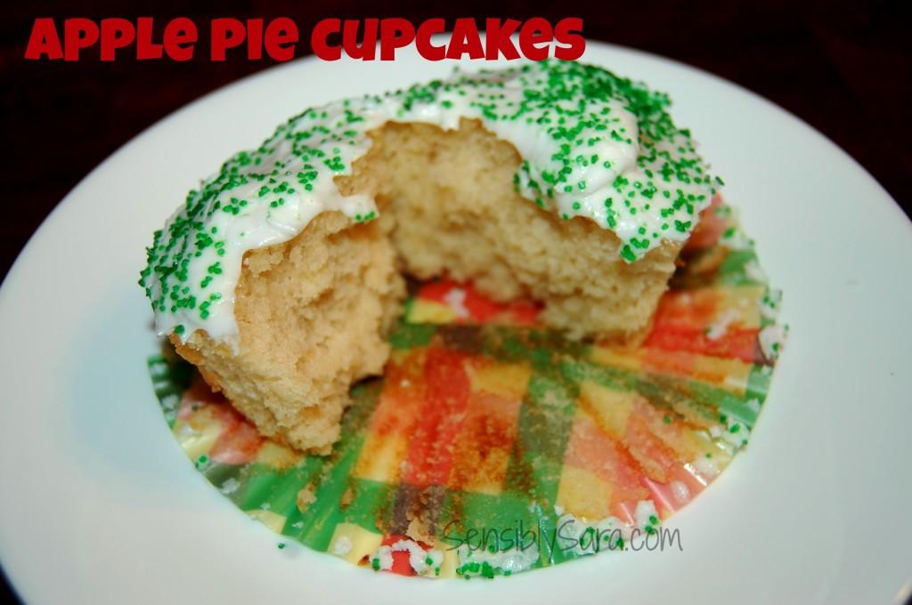 Apple Pie Cupcakes   SensiblySara.com