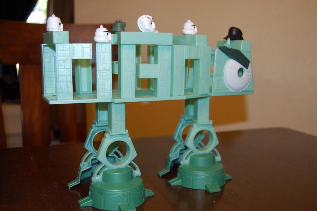 Hasbro Angry Birds Star Wars At-At Attack Battle Game