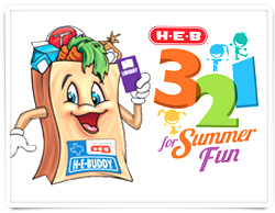 3, 2, 1 for Summer Fun Challenge with HEB! #ad