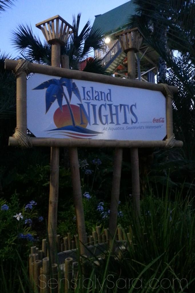 Island Nights - Sea World San Antonio   SensiblySara.com