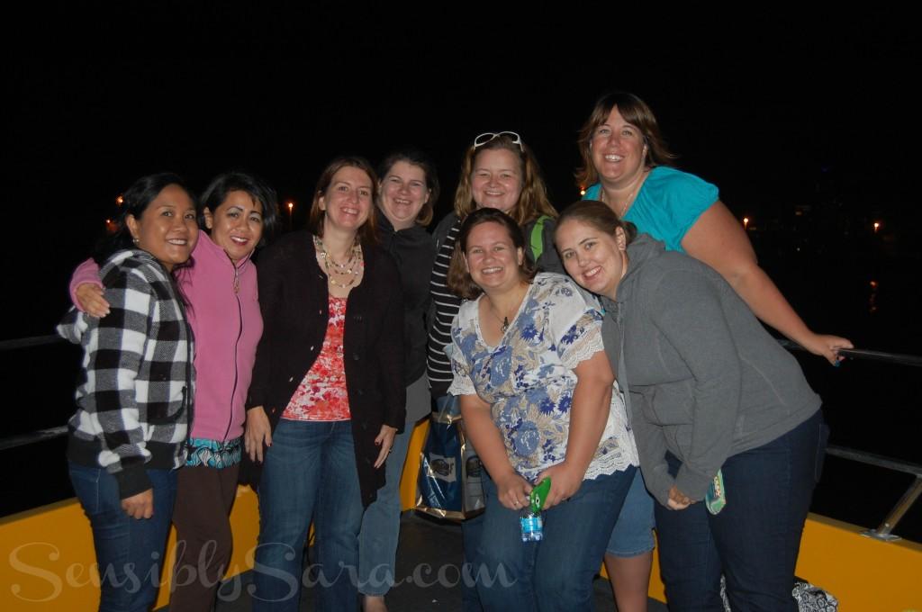 Bloggers on a Seadog Cruise   SensiblySara.com