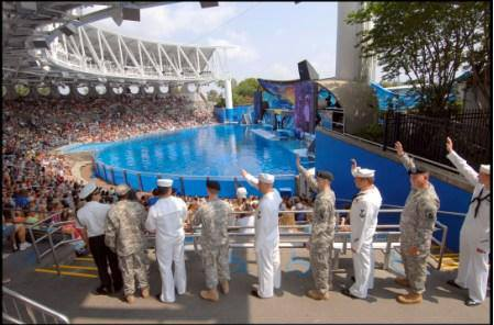 Military Veterans Sea World San Antonio