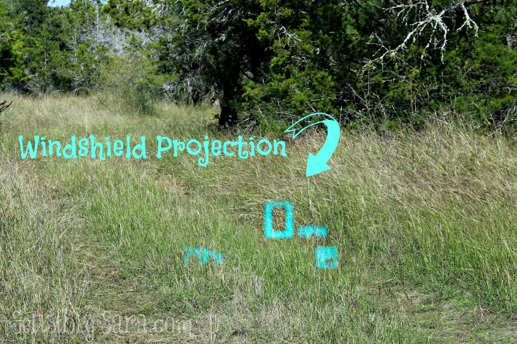 Windshield Spedometer Display | SensiblySara.com