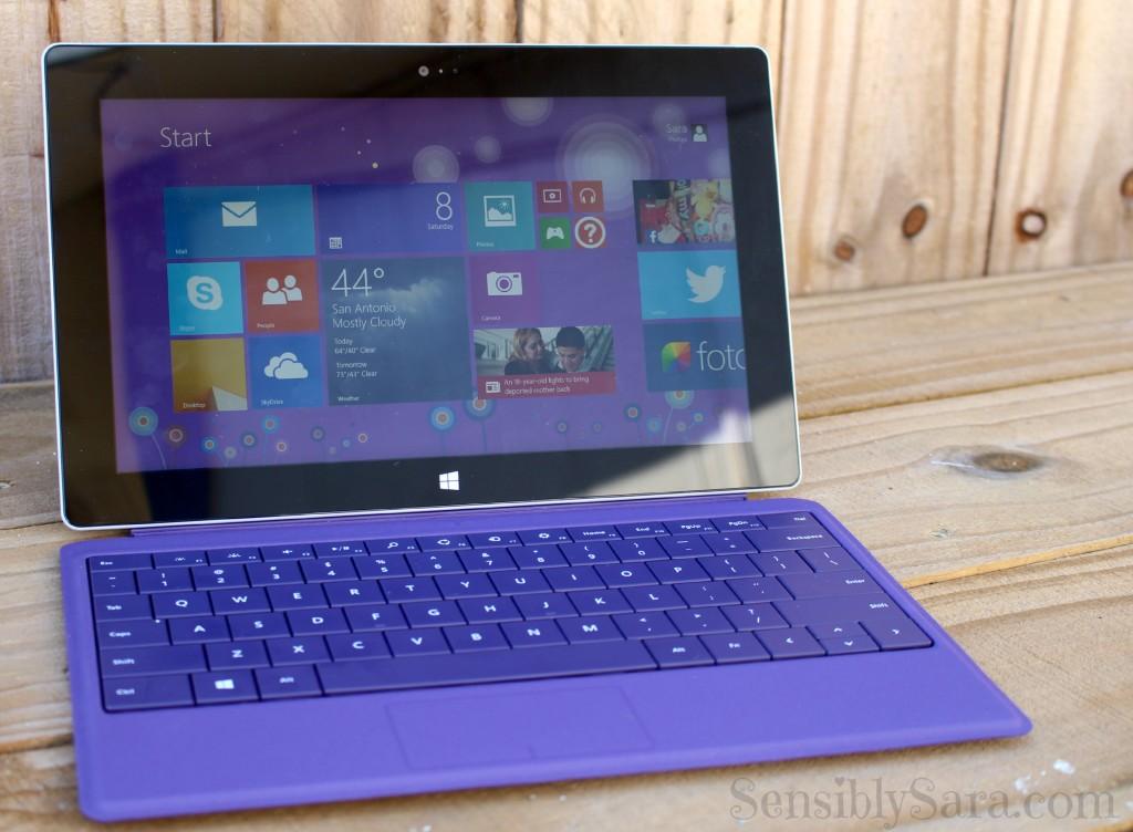 Windows Surface 2 | SensiblySara.com