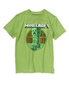 SALE! Minecraft Shirts at Crazy 8