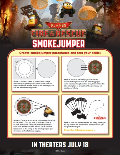 PLANES FIRE AND RESCUE Smokejumper Activity