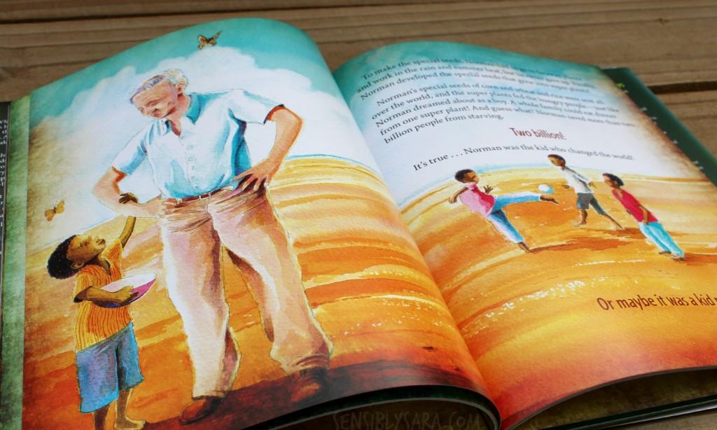 'The Kid Who Changed the World' Inside | SensiblySara.com