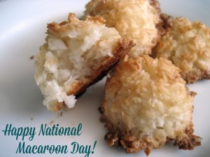 Celebrate National Macaroon Day with this #Recipe Round-Up