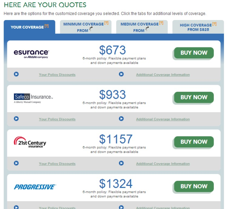 Best Site For Car Insurance Quotes