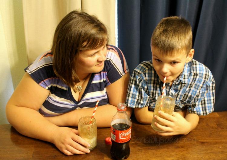 Coke Floats with J #shop | SensiblySara.com