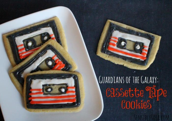 Cassette Tape Cookies #shop | SensiblySara.com