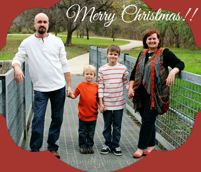 Merry Christmas from SensiblySara.com