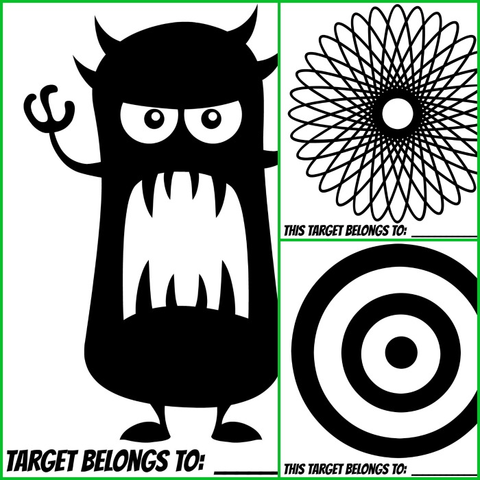 It is an image of Critical Printable Bb Gun Targets
