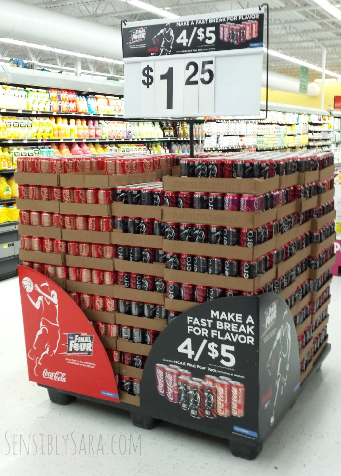 Coca-Cola NCAA® Final Four Pack at Walmart   SensiblySara.com