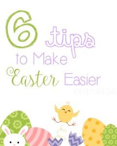 6 Tips to Make Easter Easier! #HoneyBakedEaster