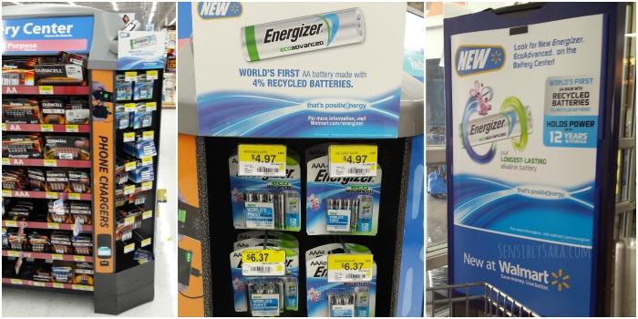Energizer EcoAdvanced Recycled Batteries Collage | SensiblySara.com