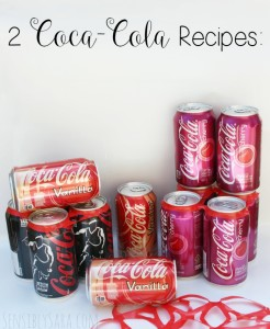 Cherry Coke Cupcakes Using a Coca-Cola NCAA® Final Four Pack #ad #FinalFourPack