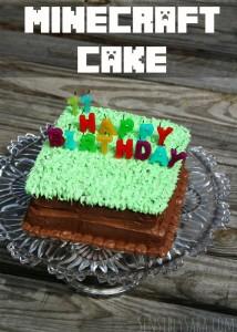 How to make a Minecraft Cake