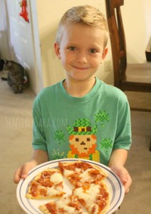 Kids in the Kitchen: Homemade Pizza