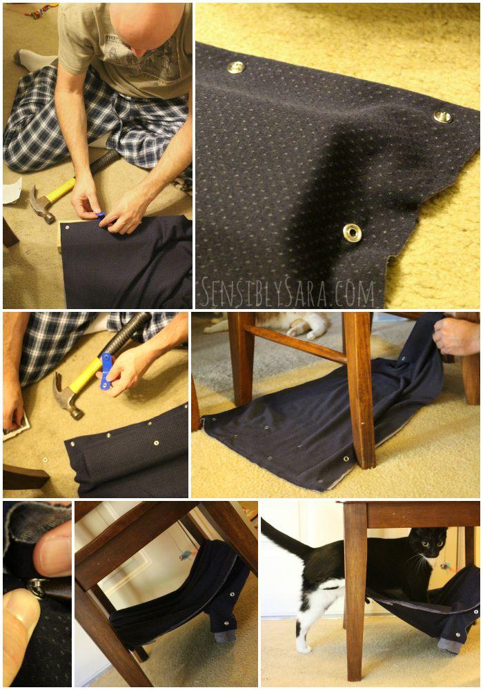 cat hammock collage   sensiblysara   pamper your pet with a diy cat hammock  ad  petslovebeyond  rh   sensiblysara