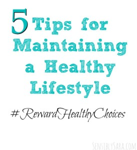 Tips for Maintaining a Healthy Lifestyle During Back to School #ad #RewardHealthyChoices