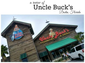 Uncle Buck's Fishbowl and Grill #EmeraldCoasting