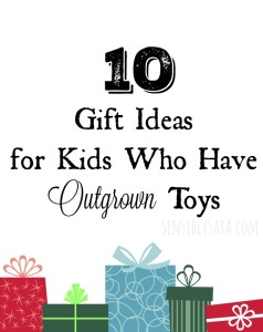 10 Gift Ideas for Kids Who Have Outgrown Toys