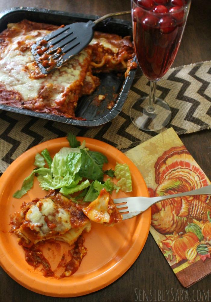 Stouffer's Lasagna Family Size Meat | SensiblySara.com