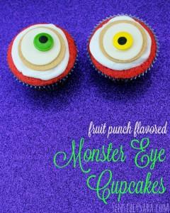 Eyeball Halloween Cupcakes