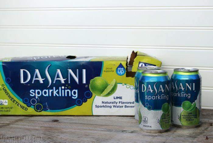DASANI Sparkling Water - Lime   SensiblySara.com