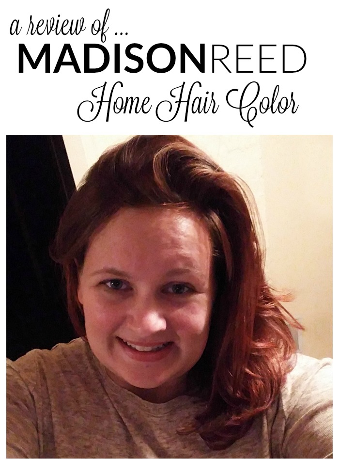 Madison Reed Hair Color Trieste Red Review