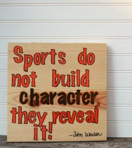 DIY Basketball Sign [AD] #GameForBasketball