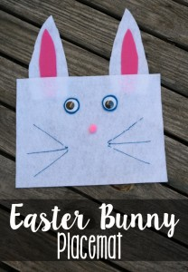Easter Bunny Placemats