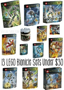 LEGO Bionicle and 13 LEGO Bionicle Sets Under $30