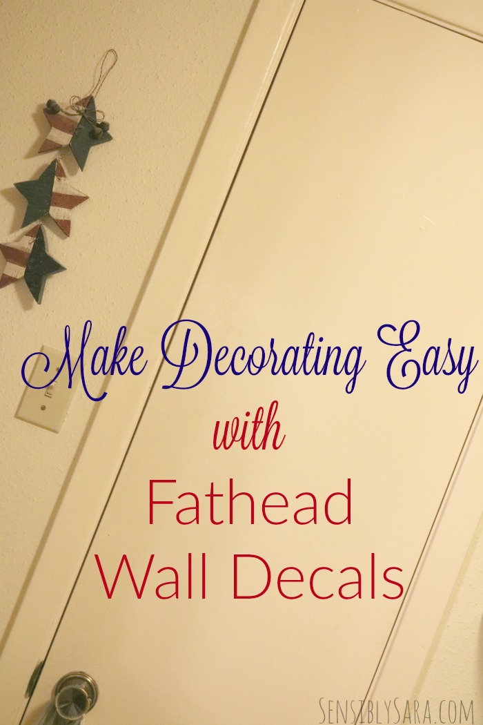 Make Decorating Easy With Fathead Wall Decals Ad