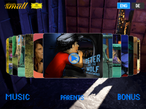 Peter and the Wolf in Hollywood Story & Games #PeterandtheWolfApp