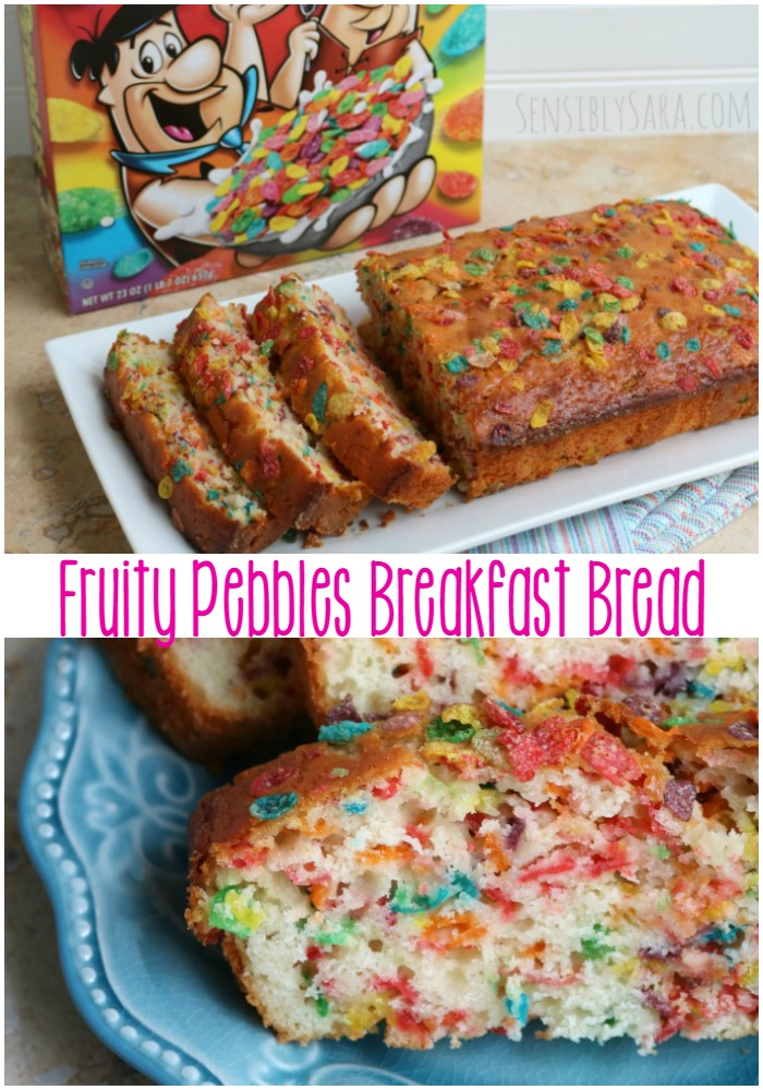 fruity pebbles breakfast bread ad realdelicious cerealanytime