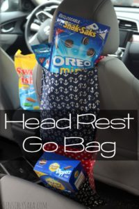 Tutorial: How to Make a Head Rest Go Bag #GetPackin [AD]