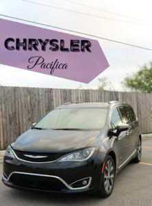 Favorite Features on the 2017 Chrysler Pacifica Minivan