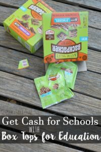 Box Tops for Education Makes it Easy Donate [AD] #BoxTopsForEducation