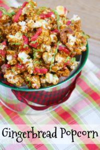Gingerbread Popcorn Recipe – a Holiday Snack {Disney Copycat}