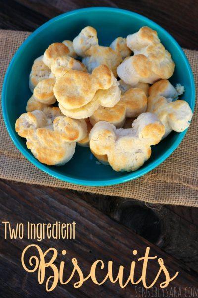The Best Two Ingredient Biscuits   SensiblySara.com
