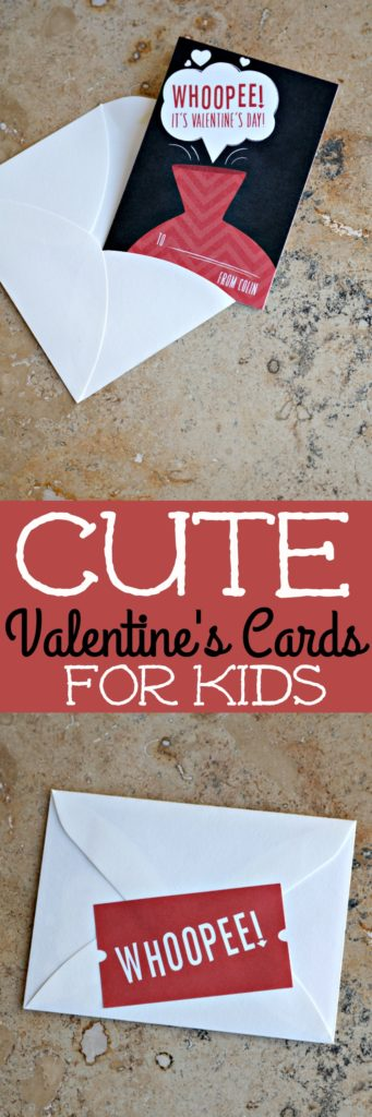 Valentines Cards for Kids | SensiblySara.com