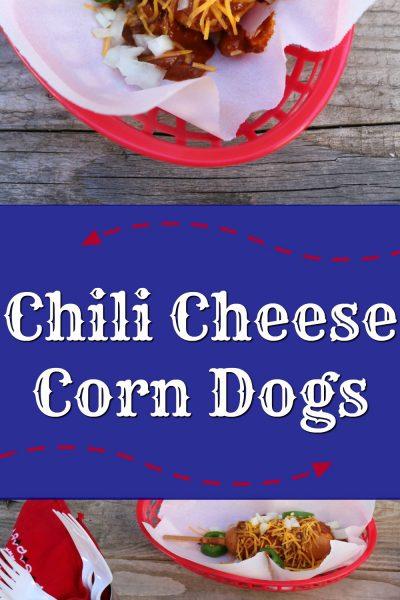 Chili Cheese Corn Dogs   SensiblySara.com
